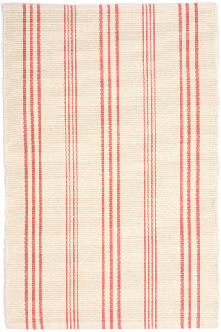 Image of Skona Stripe Woven Cotton Rug 8x10