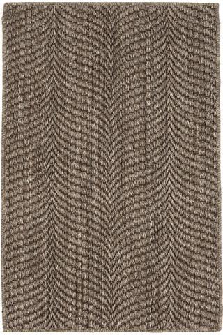 Image of Wave Greige Sisal Woven Rug 8x10