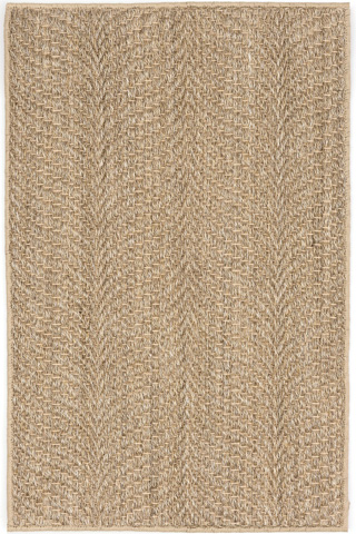 Image of Wave Natural Sisal Woven Rug 8x10