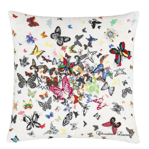 Designers Guild - CL Butterfly Parade Opalin Cushion - CCCL0017