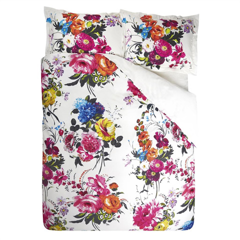 Image of Amrapali Peony Queen Duvet Cover