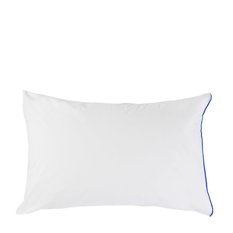 Image of Astor Cobalt Standard Pillowcase