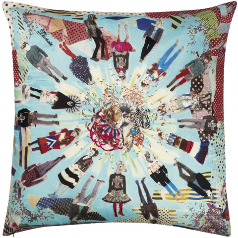 Designers Guild - Love Who You Want Multicolore Throw Pillow - CCCL0140