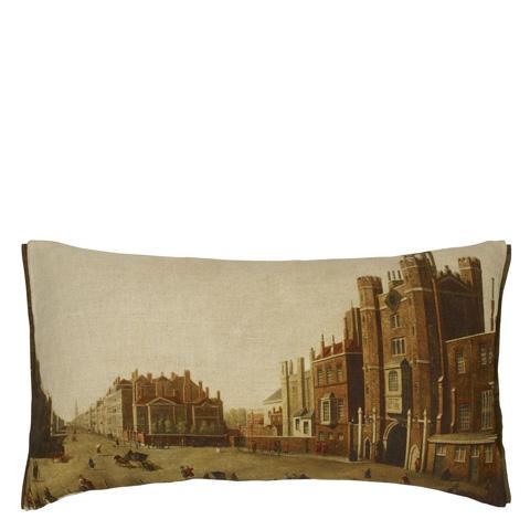 Designers Guild - St James Palace Peridot Throw Pillow - CCRC0032