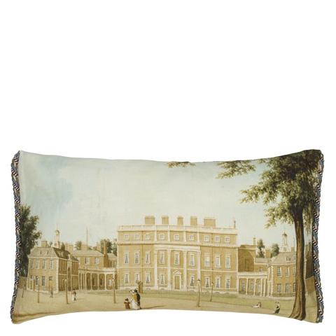 Designers Guild - Buckingham House Linen Throw Pillow - CCRC0034