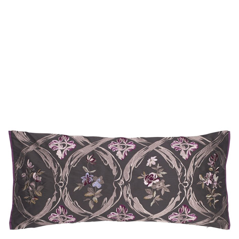 Designers Guild - Carrack Amethyst Throw Pillow - CCRC0039