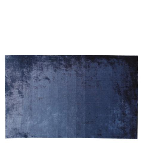 Designers Guild - Eberson Cobalt Standard Rug - DHR182/02