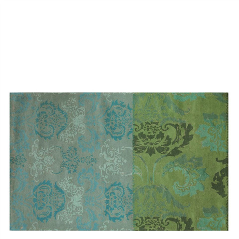 Designers Guild - Kashgar Jade Large Rug - DHRDG0080
