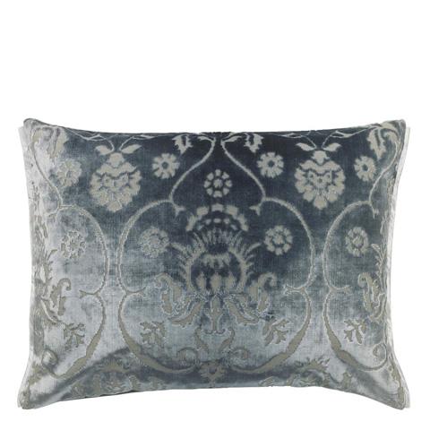 Image of Polonaise Platinum Throw Pillow