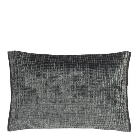 Image of Castellani Graphite Throw Pillow