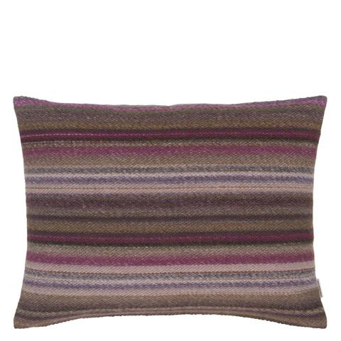 Image of Turrill Damson Throw Pillow