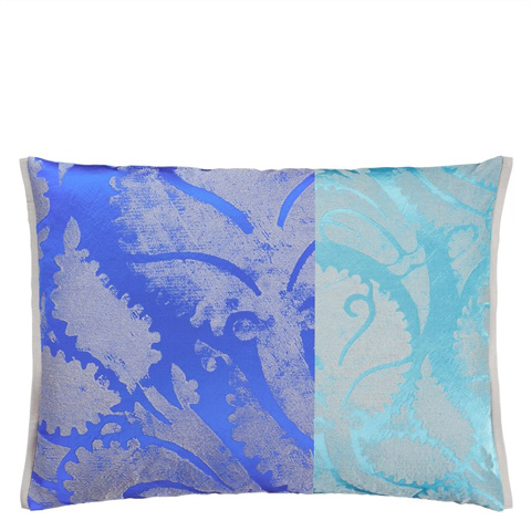 Image of Majella Cobalt Throw Pillow