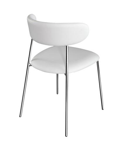 Domitalia - Anais Chair - ANAIS.S.0K0.CR.7JJ