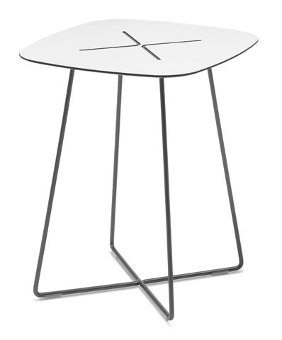 Domitalia - Cross Square End Table - CROSS.C.06F.AN.HBI