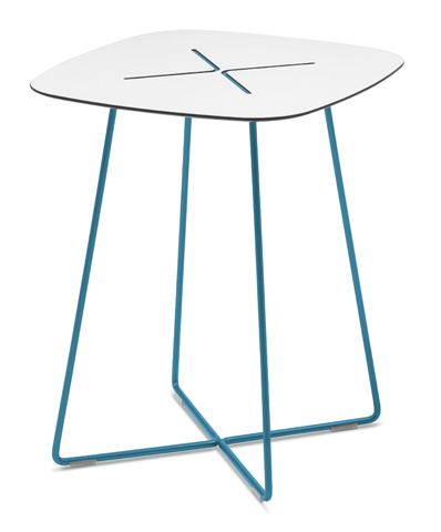 Domitalia - Cross Square End Table - CROSS.C.06F.BL.HBI