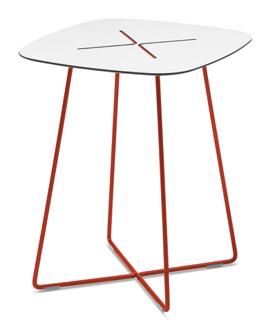 Domitalia - Cross Square End Table - CROSS.C.06F.RT.HBI
