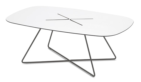 Domitalia - Cross Rectangular Cocktail Table - CROSS.C.14F.AN.HBI