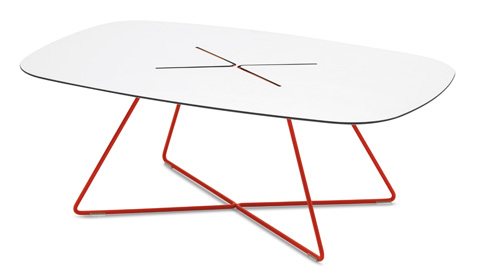 Domitalia - Cross Rectangular Cocktail Table - CROSS.C.14F.RT.HBI