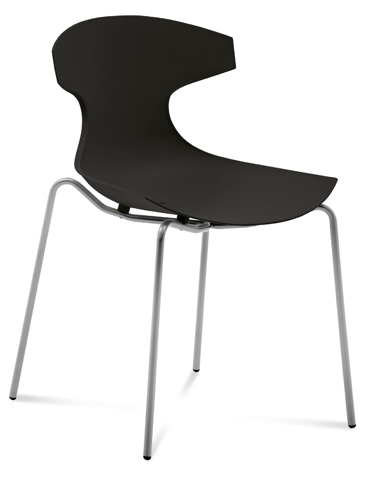 Domitalia - Echo Stacking Side Chair - ECHO.S.00F.AE.PNE