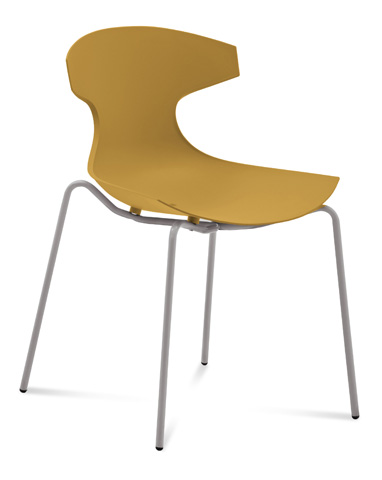 Domitalia - Echo Stacking Side Chair - ECHO.S.00F.AE.PSE