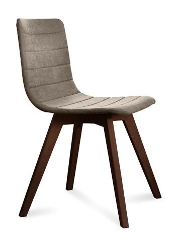 Domitalia - Flexa Side Chair - FLEXA.S.0KS.CHS.8IV
