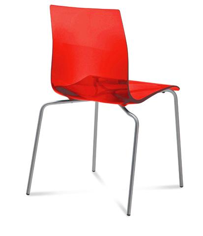 Domitalia - Gel Side Chair - GEL.B.AS.FV.SRO