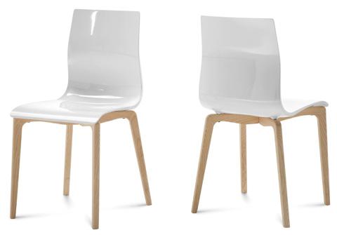 Domitalia - Gel Side Chair - GEL.S.LSF.FRS.SBI