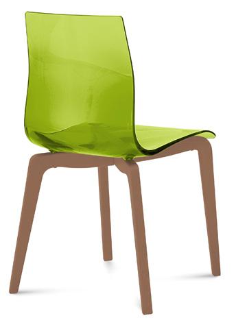 Domitalia - Gel Side Chair - GEL.S.LSF.NCA.SVE