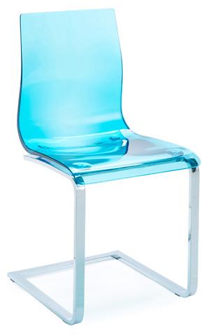 Domitalia - Gel Side Chair - GEL.SL.C.FV.SAZ