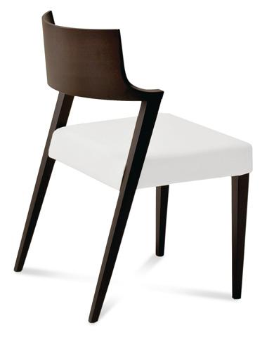 Domitalia - Lirica Side Chair - LIRIC.S.0K0.WE.CBI