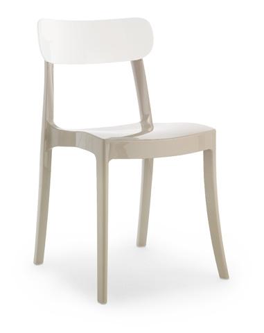 Domitalia - New Retro Stacking Chair - NEWRE.S.040.PC.TOBI