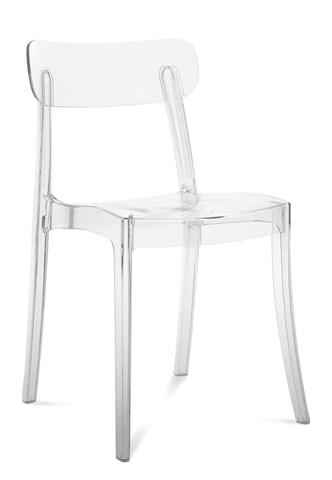 Domitalia - New Retro Stacking Chair - NEWRE.S.040.PC.TR