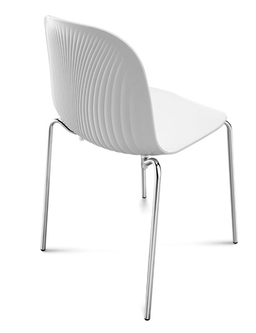 Domitalia - Playa Stacking Chair - PLAYA.S.02F.CR.SBI