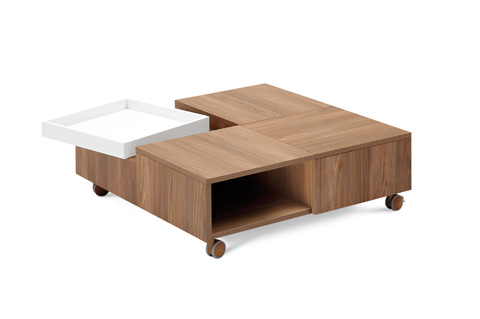 Domitalia - Roy Square Cocktail Table - ROY.NCA.LBB