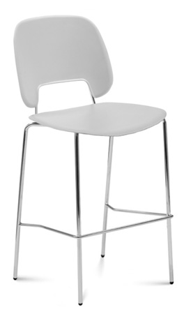 Domitalia - Traffic Stacking Barstool - TRAFF.R.A0F.CR.PGC