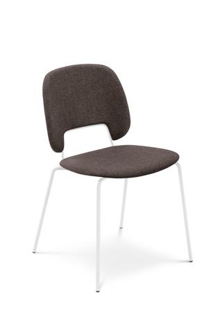 Domitalia - Traffic Stacking Chair - TRAFF.S.00F.BI.8IW