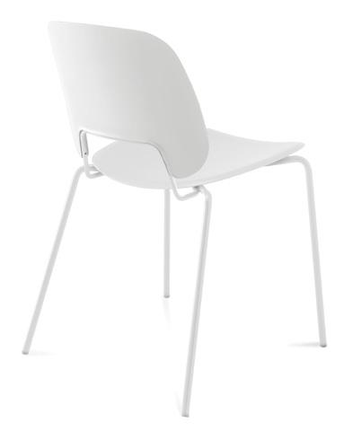 Domitalia - Traffic Stacking Chair - TRAFF.S.00F.BI.PBI