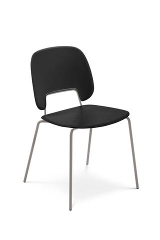 Domitalia - Traffic Stacking Chair - TRAFF.S.00F.SA.PNE