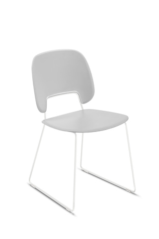 Domitalia - Traffic Stacking Chair - TRAFF.S.T0F.BI.PGC