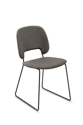 Domitalia - Traffic Stacking Chair - TRAFF.S.T0F.NE.8IW