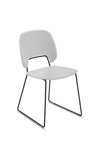 Domitalia - Traffic Stacking Chair - TRAFF.S.T0F.NE.PGC