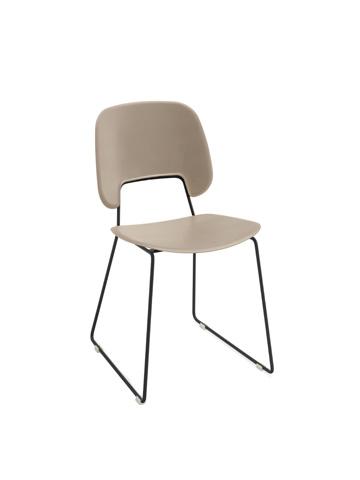 Domitalia - Traffic Stacking Chair - TRAFF.S.T0F.NE.PSA