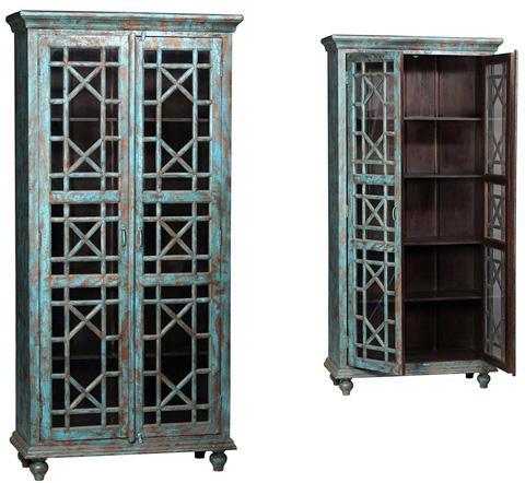 Dovetail Furniture - Hidalgo Vitrine - AE143