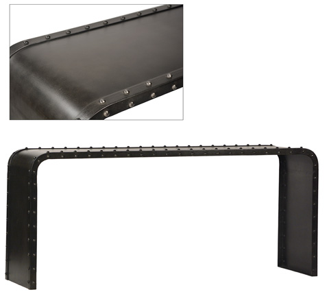 Dovetail Furniture - Hampton Console Table - AG065