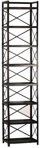 Dovetail Furniture - Oxford Tall Bookcase - AH140