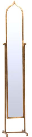 Dovetail Furniture - Fez Standing Mirror - AI115