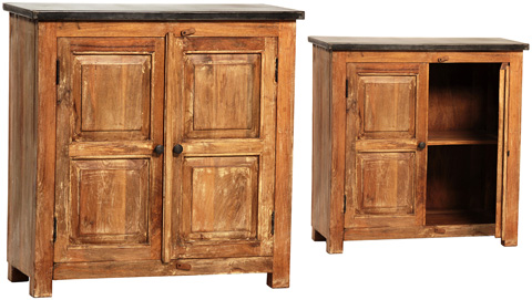 Dovetail Furniture - Sideboard with Iron Top - AK208