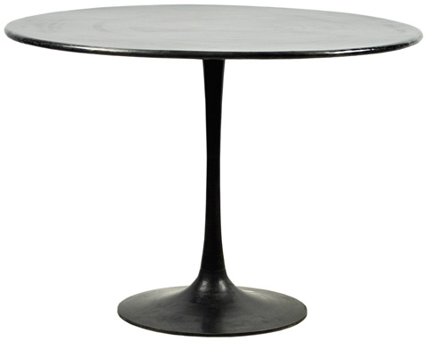 Dovetail Furniture - Bolton Round Metal Table - AL333