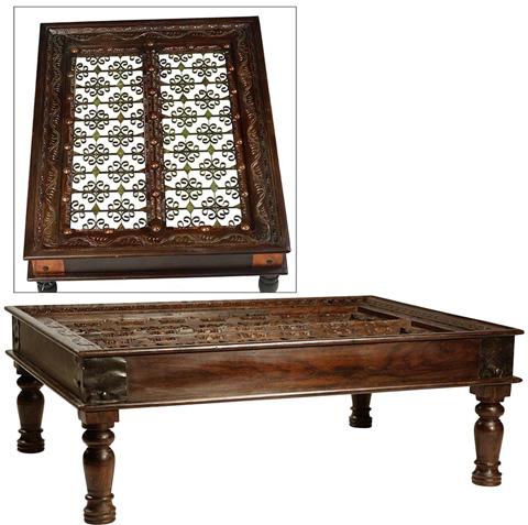 Dovetail Furniture - Capri Coffee Table - CAT227