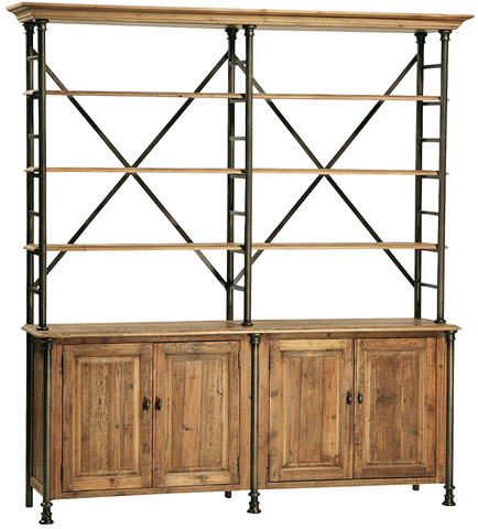 Dovetail Furniture - Portebello Bookcase - DOV035